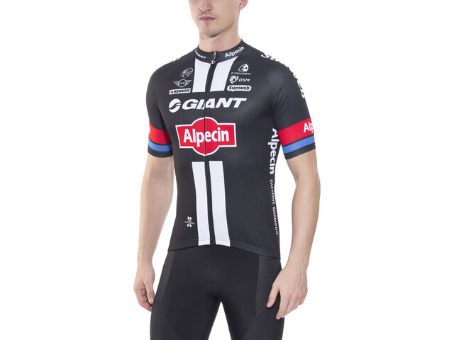 Etxeondo Replica Team Giant-Alpecin Standard Bike Jersey Shortsleeve Men  black 03c9bbd7a
